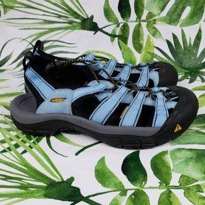 Keen  Newport H2 sandals blue 7.5